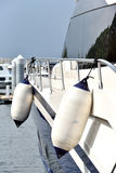 Flöte på yachtsida Royaltyfri Foto