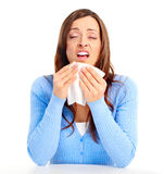 Flu, allergy Stock Photography