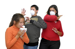 Flu danger Stock Photos