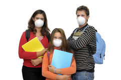 Flu danger Royalty Free Stock Image