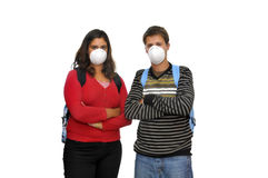 Flu danger Royalty Free Stock Photos