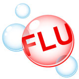 Flu infection Stock Photo