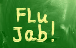 Flu Jab Concept Stock Images