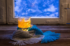 From the flu just hot tea Stock Photography