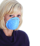 Flu mask Stock Image