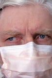 Flu mask Stock Image