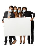 Flu preventive maintenance concept Stock Photo