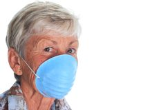 Flu protection Royalty Free Stock Photography