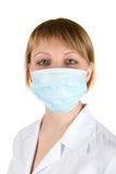 Flu protection Royalty Free Stock Images