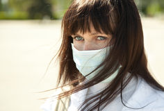 Flu protection Stock Image