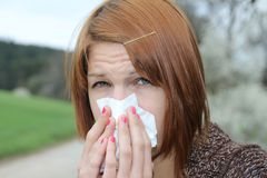 Flu season Royalty Free Stock Photos
