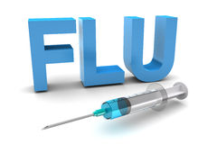 Flu Shot Royalty Free Stock Image
