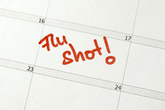 Flu Shot Stock Photography