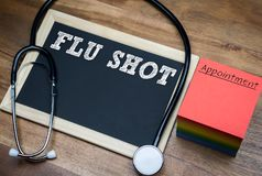 Free Flu Shot - Influenza Vaccine Royalty Free Stock Image - 128266016
