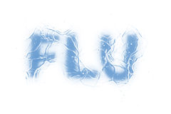 Flu (Text serie) Stock Images