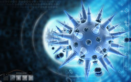 Flu virus Stock Photography