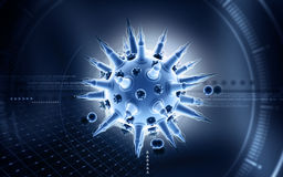 Flu virus Stock Photos