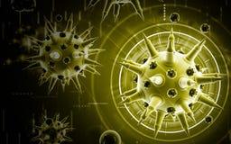 Flu virus Royalty Free Stock Images