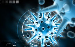 Flu virus Royalty Free Stock Photos