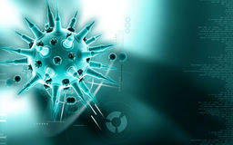 Flu virus Royalty Free Stock Image