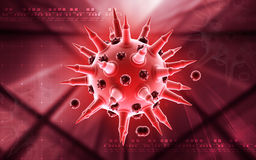 Flu virus Royalty Free Stock Photography