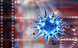 Flu virus Stock Image