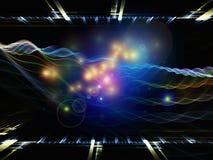 Fluctuaciones de la energía ilustración del vector
