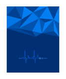 Fluctuation of electrocardiogram Royalty Free Stock Images