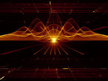 Fluctuations of energy Stock Photo