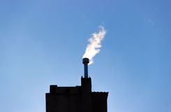 Flue enviroment energy gas smoke filter Royalty Free Stock Photos