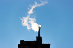 Flue enviroment energy gas smoke filter Royalty Free Stock Photo