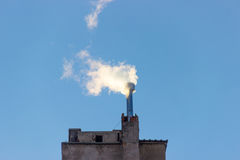 Flue enviroment energy gas smoke filter. Industry gloabal air stock photography
