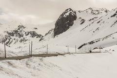 Fluela pass - Switzerland. Stock Photography