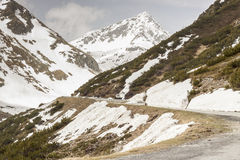 Fluela przepustka - Szwajcaria Zdjęcie Royalty Free