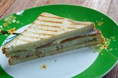 Fluffernutter sandwich Stock Photography