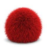 fluffig boll Arkivfoto