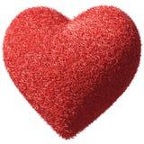 fluffig furry hjärta royaltyfri illustrationer