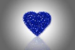 fluffig hjärta Royaltyfri Fotografi