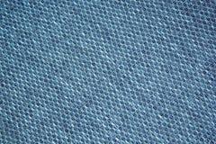 Fluffig torkduk för schacktextur blå mörk oändlighet för bakgrund royaltyfri foto