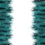 Fluffig trädmall för jul Royaltyfri Bild