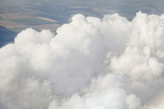 Fluffiga moln. Royaltyfria Foton