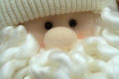 Fluffiga Santa royaltyfri fotografi
