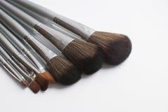 Fluffy brush for makeup. Stock Image