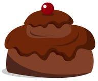 Fluffy cake Stock Image
