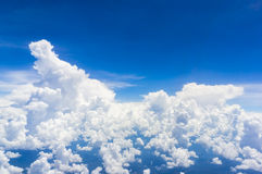 Fluffy cloud Royalty Free Stock Photo