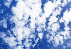 Fluffy Cloud on Blue Sky Stock Photos