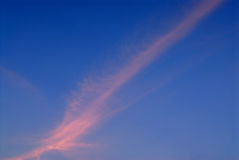 Fluffy cloud on blue sky Royalty Free Stock Photography