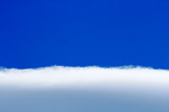Fluffy cloud layer Stock Images