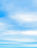 Fluffy clouds and blue sky Royalty Free Stock Photography