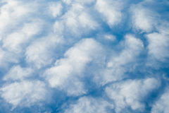 Fluffy clouds and blue sky Royalty Free Stock Images
